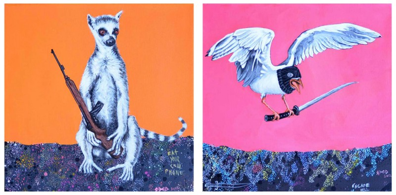 Lord of War / Bird of Prey- part of Nature Calls group show